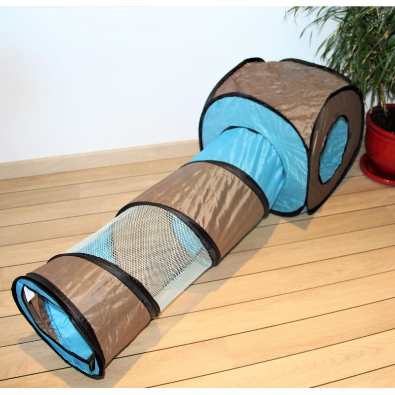 tunnel tente pour chat. Black Bedroom Furniture Sets. Home Design Ideas