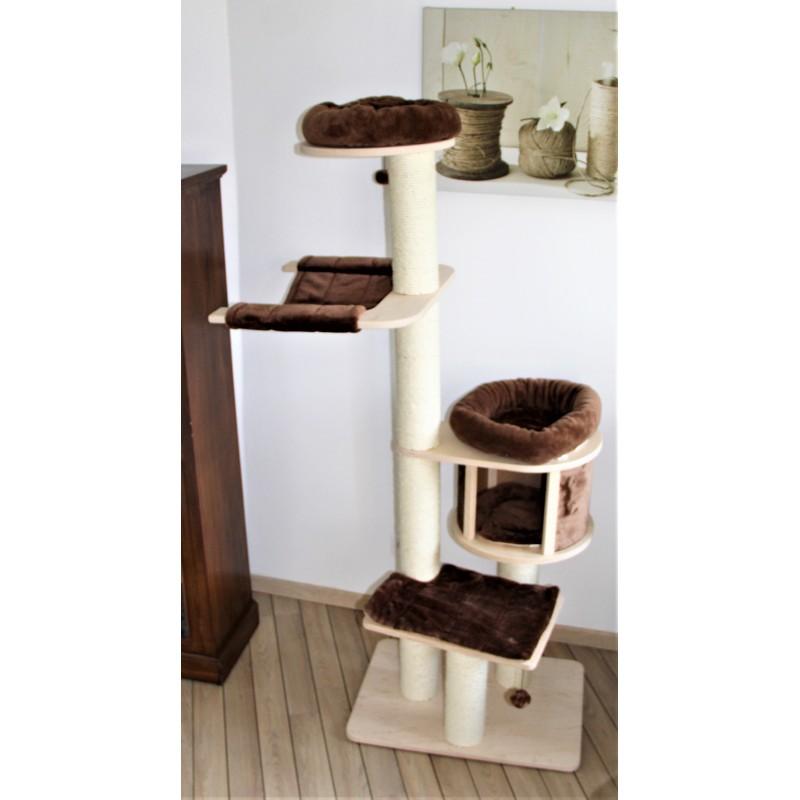 arbre chat naturel et hygi nique. Black Bedroom Furniture Sets. Home Design Ideas