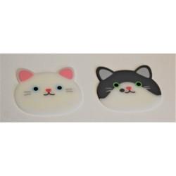 Dessous de tasse chat