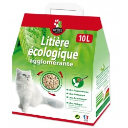 Litière écologique, fibres...